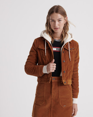 Superdry Cord Girlfriend Jacket