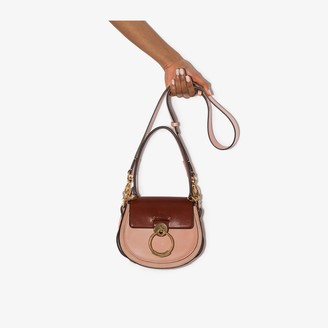 Chloé pink Tess small leather shoulder bag