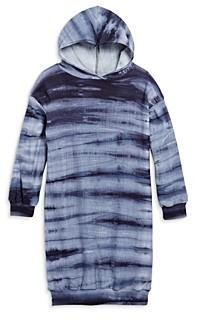 Aqua Girls' Sweatshirt Hoodie Dress, Big Kid - 100% Exclusive