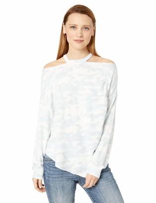 Skinnygirl Women's Frieda Long Sleeve Knit Top