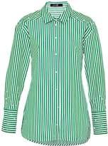 Hallhuber Long, Bead-Embellished Shirt Blouse