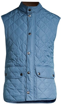 Barbour Lowerdale Diamond-Quilted Vest
