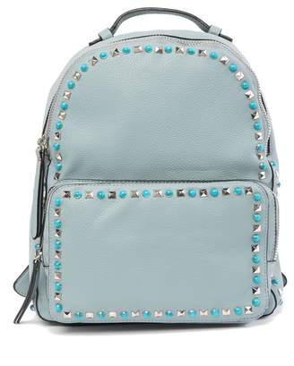 Urban Expressions Posh Embellished Vegan Leather Backpack