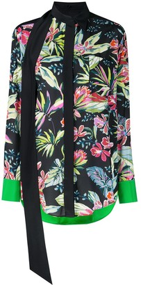 Barbara Bui Floral Pattern Blouse
