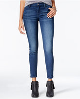 Celebrity Pink Juniors' Body Sculpt The Lifter Lace-Up Skinny Ankle Jeans