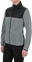 Pony Fleece Jacket - Full Zip (For Women)