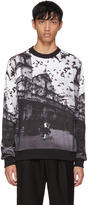 Dolce & Gabbana Black and White Sicilia Sweatshirt