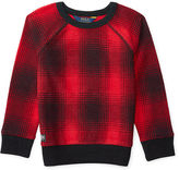 Ralph Lauren Plaid Cotton-Blend Pullover