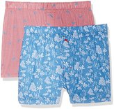 Tommy Bahama Men's 2 Pack House and Marlin Check Woven Boxer Set