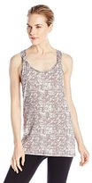 Threads 4 Thought Women's Crosshatch Print Shayla Tank Top