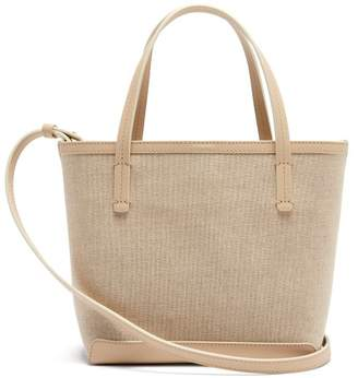 The Row Park Small Canvas Tote - Womens - Cream Multi