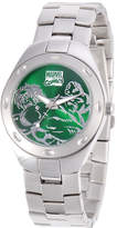 Marvel Fortazela Mens The Hulk Green Dial Stainless Steel Watch