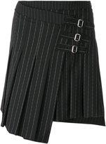 McQ wrap kilt pinstripe skirt