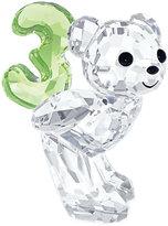 Swarovski Collectible Figurine, Number Three Kris Bear