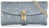 Dolce & Gabbana 'Dolce' clutch - women - Viscose/glass/metal - One Size