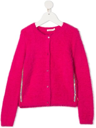 Billieblush Sequin-Embellished Cardigan