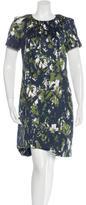 Jason Wu Brush Stroke Print Sheath Dress