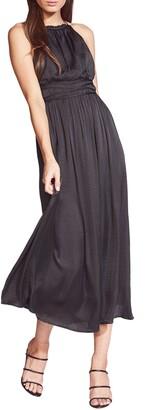 Bardot Silvana Satin Midi Dress