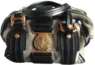 Gucci Grey Suede Handbags