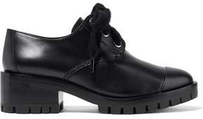 3.1 Phillip Lim Hayett Glossed-Leather Ankle Boots
