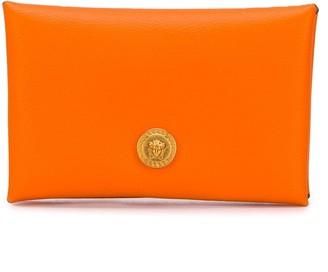 Versace leather envelope card-holder