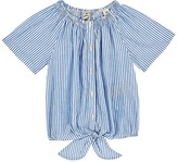 Scotch R'Belle STRIPED COTTON VOILE TOP