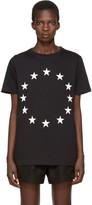 Etudes Black Europa Stars T-Shirt