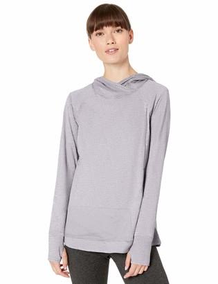 Danskin Women's Crossover Neck Pullover Hoodie