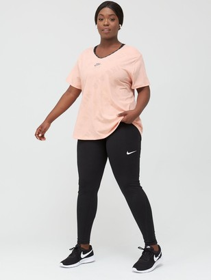 Nike Air Running Miler T-Shirt (Curve) - Washed Coral