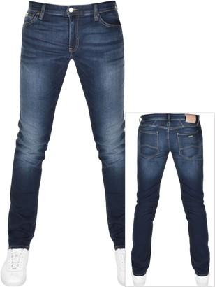 Armani Exchange J14 Skinny Fit Jeans Blue