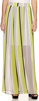 WORTHINGTON Worthington Pleated Maxi Skirt