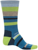 Point 6 Point6 Mixed Stripe Midweight Socks - Merino Wool, Crew (For Men and Women)