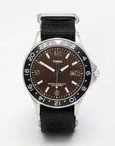Timex Classic Watch With Nylon Strap - Black