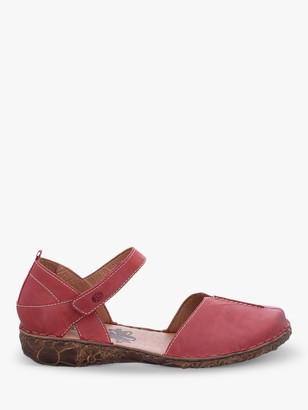 Josef Seibel Rosalie 42 Leather Sandals, Hibiscus Red