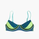 J.Crew Cynthia Rowley® colorblock bikini top