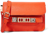 Proenza Schouler Ps11 Linosa Mini Textured-leather Shoulder Bag - Bright orange