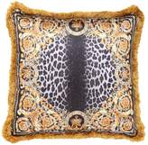Versace Crown Animalier Silk Accent Pillow