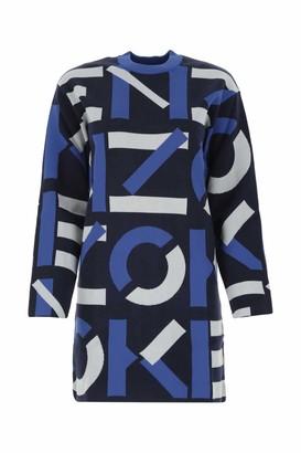 Kenzo Sport Monogram Jacquard Dress