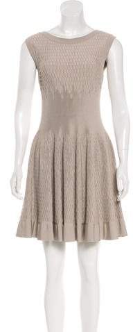Alaia Sleeveless Fit and Flare Dress w/ Tags