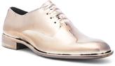 Maison Margiela Limited Edition Galvanized Effect Dress Shoes