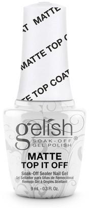 Gelish MINI Soak-Off Gel Nail Polish Matte Top It Off