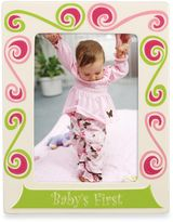 Gorham Little Girl with a Curl 5-Inch x 7-Inch Baby's First Frame