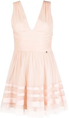 Liu Jo sleeveless flared mini dress
