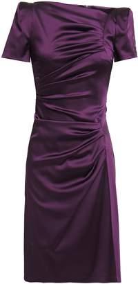 Talbot Runhof Noomi Ruched Duchesse-satin Dress