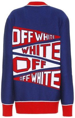 Off-White Off White Wool-blend cardigan