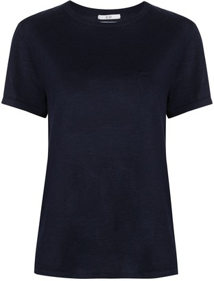 Co Cashmere Short Sleeve Top