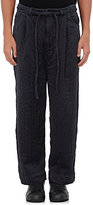 Craig Green MEN'S SILK QUILTED DRAWSTRING-WAIST PANTS