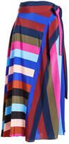 Diane von Furstenberg Wrap Midi Skirt