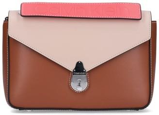 Calvin Klein Color Block Shoulder Bag