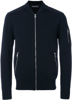 Neil Barrett zip cardigan - men - Nylon/Viscose/Wool - M